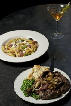 Pioneer Street Cafe in Ridgefield ribey steak