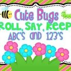 FREE!!! Adorable Spring/Bug themed graphics! Includes two color game mats, two sets of ABC cards, and number cards 1-50    Included:  Cover page-you can adhere to a file folder or an envelope t...