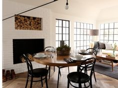 Painted Brick Fireplaces On Pinterest Painted Brick