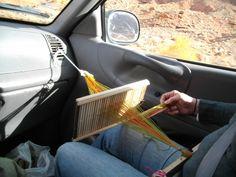Tape Loom Weaving wh...
