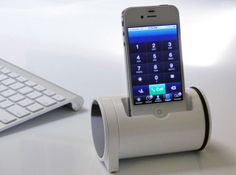 Cool #iPhone dock!