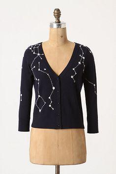 Constellation sweater.