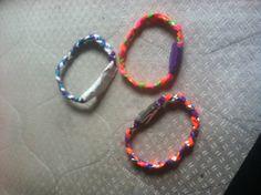 More Duck Tape Bracelets :)