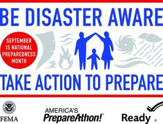 Take Action to Prepare. Is your family prepared for a disaster? Make a plan! #family safety