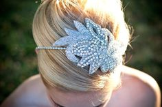 Anastasia Headband @TiffaniSaxtonDesigns. @etsyweddingteam