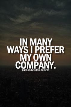 Haha, I really do!  #introvert