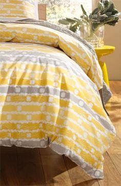 Nordstrom 'Underground Stripe' Duvet Cover available at Nordstrom