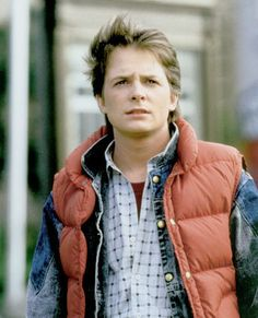 Marty McFly - Michael J. Fox (Back to the Future series)