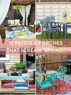 patios & porches wit