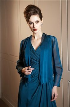 Long sleeves Chiffon #Bolero & #Shawls Style Code: 06784 $37