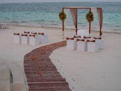 beach destination wedding package