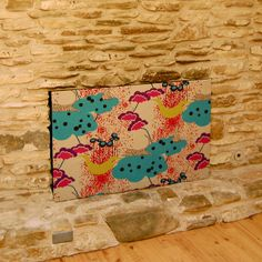 DIY Fabric Fireplace Screen / Cover / Draft Prevention
