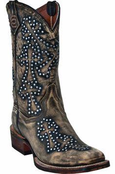 Dan Post Cross Walker Cowgirl Boots - Square Toe - Sheplers