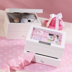 Personalized Photo Jewelry Box for Flower Girl | Flower Girl Gifts