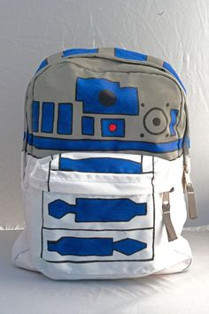 In honor of #StarWars being crowned our #BestSummerMovieEver, here's some of the best SW swag out there - R2D2 Backpack Star Wars