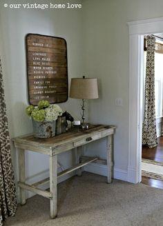 our vintage home love: Den Updates