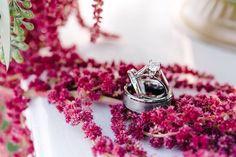 Taryn + Taylor Outdoor Wedding Ring Shot | @fsdallas | @dyankethley Photography