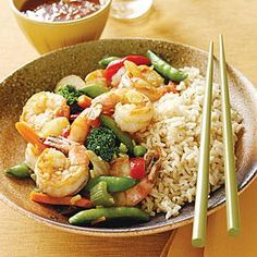 Shrimp and Vegetable