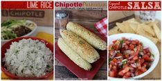 Copycat Chipotle Recipes including Carnitas  in the Crock-Pot, Copycat Chipotle Lime Rice with Cilantro,  Chipotle Parmesan Corn Seasoning and Chipotle Sala or Pica De Gallo on Frugal Coupon Living