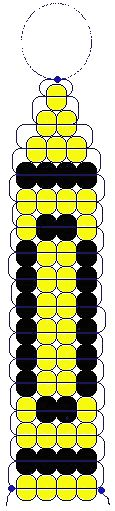 Crayon pony bead pattern.