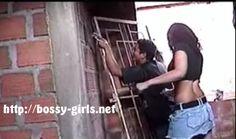 "From Bossy Girls' Femdom Video ""Macho Stupidity"""
