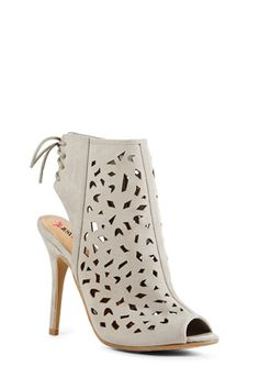 Love this chic Thaden bootie! Gorgeous laser cutouts!