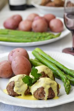 Lamb Meatballs with Egg & Lemon Sauce