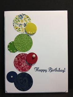 Something to Celebrate Birthday Card Stampin' Up! Rubber Stamping
