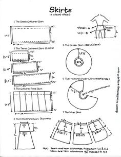 skirts DIY guide