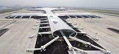 New airport terminal puts the wonder back into flight   Shenzhen, China