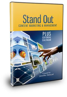 $79.00 Stand Out Content Marketing & Management System PLUS Social Media Editorial Calendar http://www.marketingmotivator.com/products/stand-out-content-plan.html