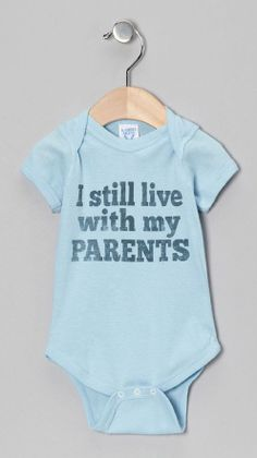 so funny! love this onesie #humor #baby #onesie #gift