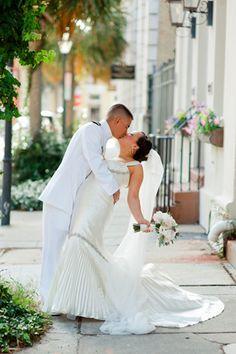Citadel wedding, Charleston