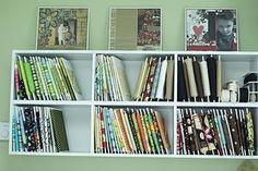 fabric storage, room organization, green beans, sew room, sewing rooms, fabric scraps, storage ideas, office crafts, craft rooms