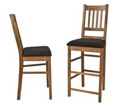 American Mission Barstool Chairs. Ideal for the traditional kitchen, with country style decor.