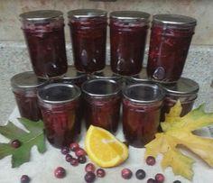 Canning Homemade!: Leslie's Cranberry Orange Sauce