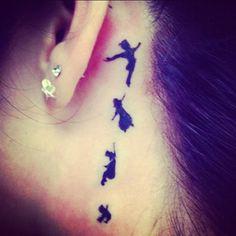 peter pan tattoo....love