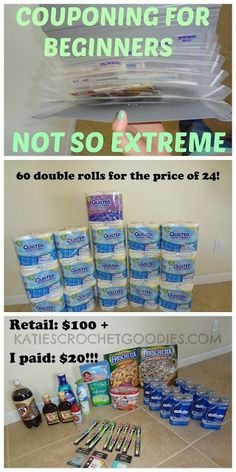Pin now read later: Couponing for beginners: Not so extreme
