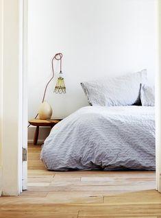 Cozy bedroom via @Liz Mester Garden magazine