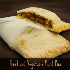 GF Beef & Vegetable Hand Pies | Bob's Red Mill