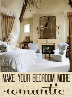7 Tips for a More Romantic Bedroom | Tipsaholic.com