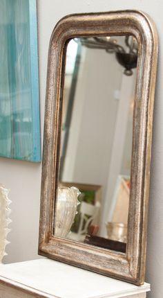 Jean-Marc Fray: Louis Philippe Period Mercury Glass Mirror
