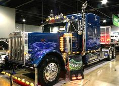 Semi Trucks - have always loved the power of a semi and would love to drive one one day