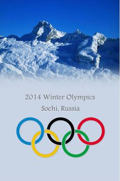 2014 Sochi Winter Olympics Poster