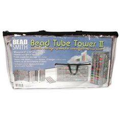 Bead Tower for Flip Top Tubes Bead Craft #beadstorage #bead #Supplies #beadartjewelrysupply, $12.98 #crafts