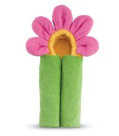 hooded flower towel