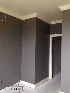 Seine-Valspar- I'm liking this color for a bedroom, but maybe too dark.