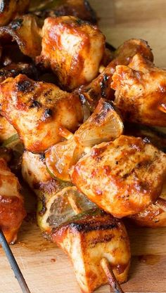 Spicy Bud Light Lime Chicken Kabobs