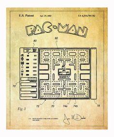Pac-Man Game 2003 Print