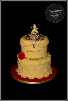 Princess Belle Cake!